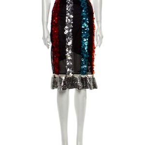Sachin + Babi Sequin Constan Tinople Skirt Size 6